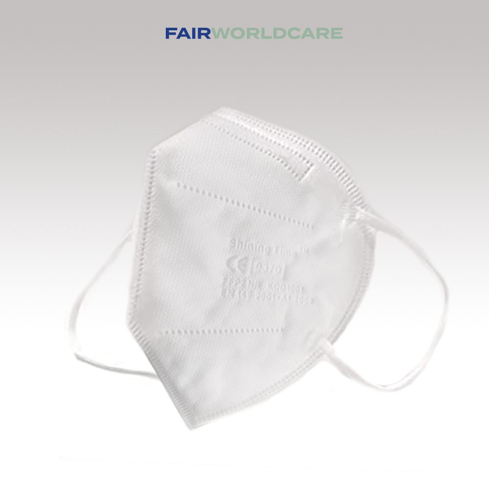 FFP2 Atemschutzmasken, CE zertifiziert in der EU, 20 Stück Packung